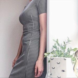 Banana Republic | Vertical Striped Dress
